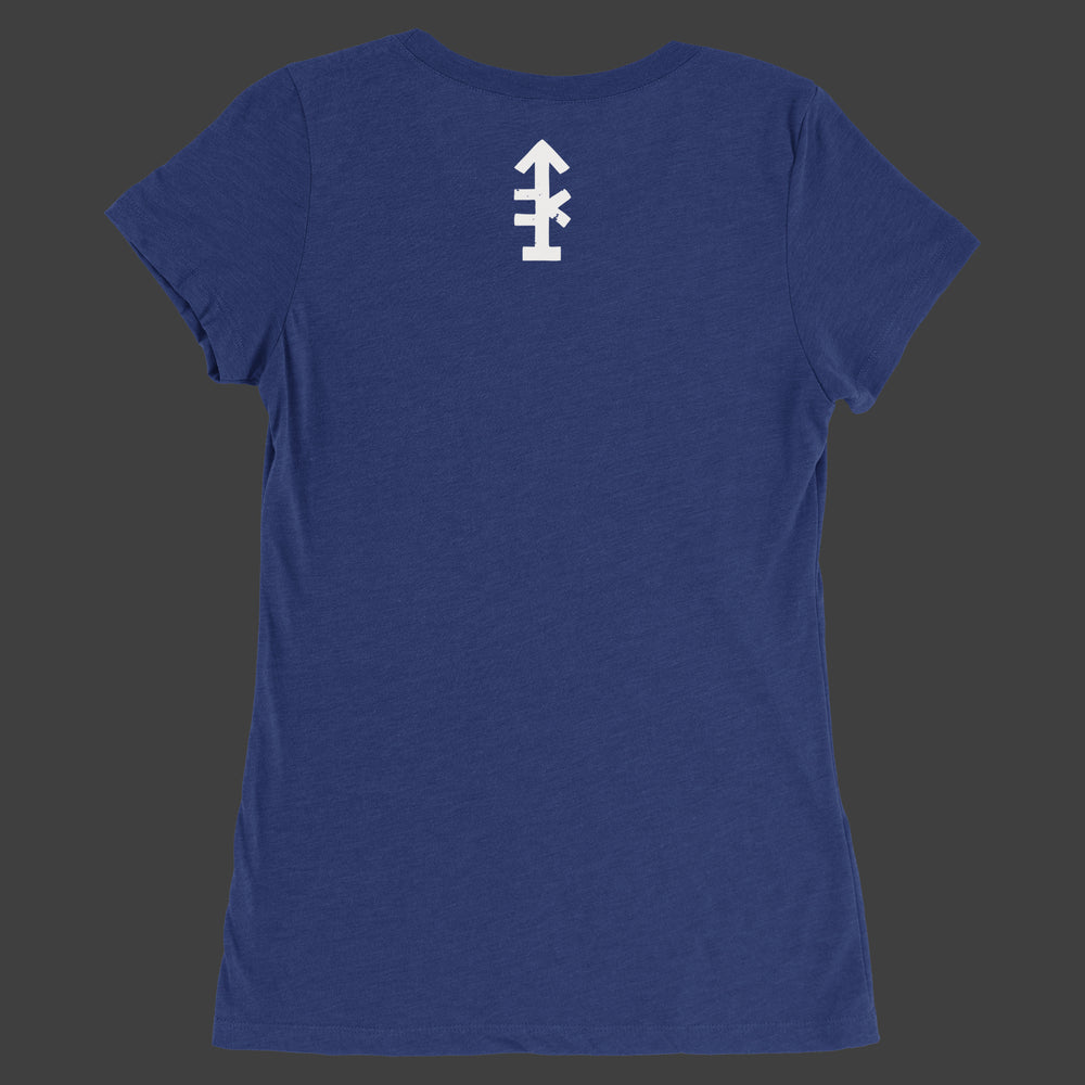 Women's UNcivilized T-Shirt (Navy)