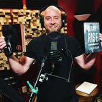 Traver Boehm recording the Today I Rise Audiobook
