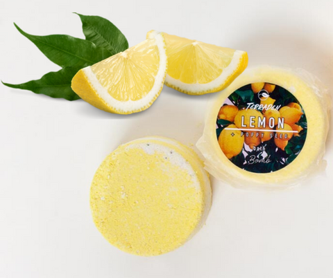 Lemon and Poppy Seed Bath Bomb. Refreshing, citrusy and warm.Handmade with premium natural ingredients, ethically sourced, such as plant based oils and butters, botanicals and blends of essential oils. vegan and cruelty free, palm oil and plastic free. With cocoa butter-all over moisturising, Epsom salts and poppy seeds soothe and cleanse and lemon essential oil- mood booster, increases focus and alertness.. Luxury, Sustainable and eco-friendly product. Gender neutral, suitable for sensitive skin.