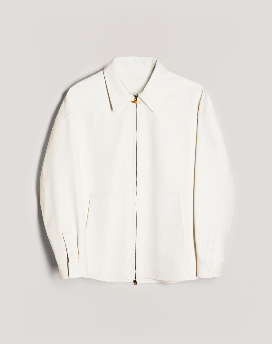 14.dunhill leather work jacket