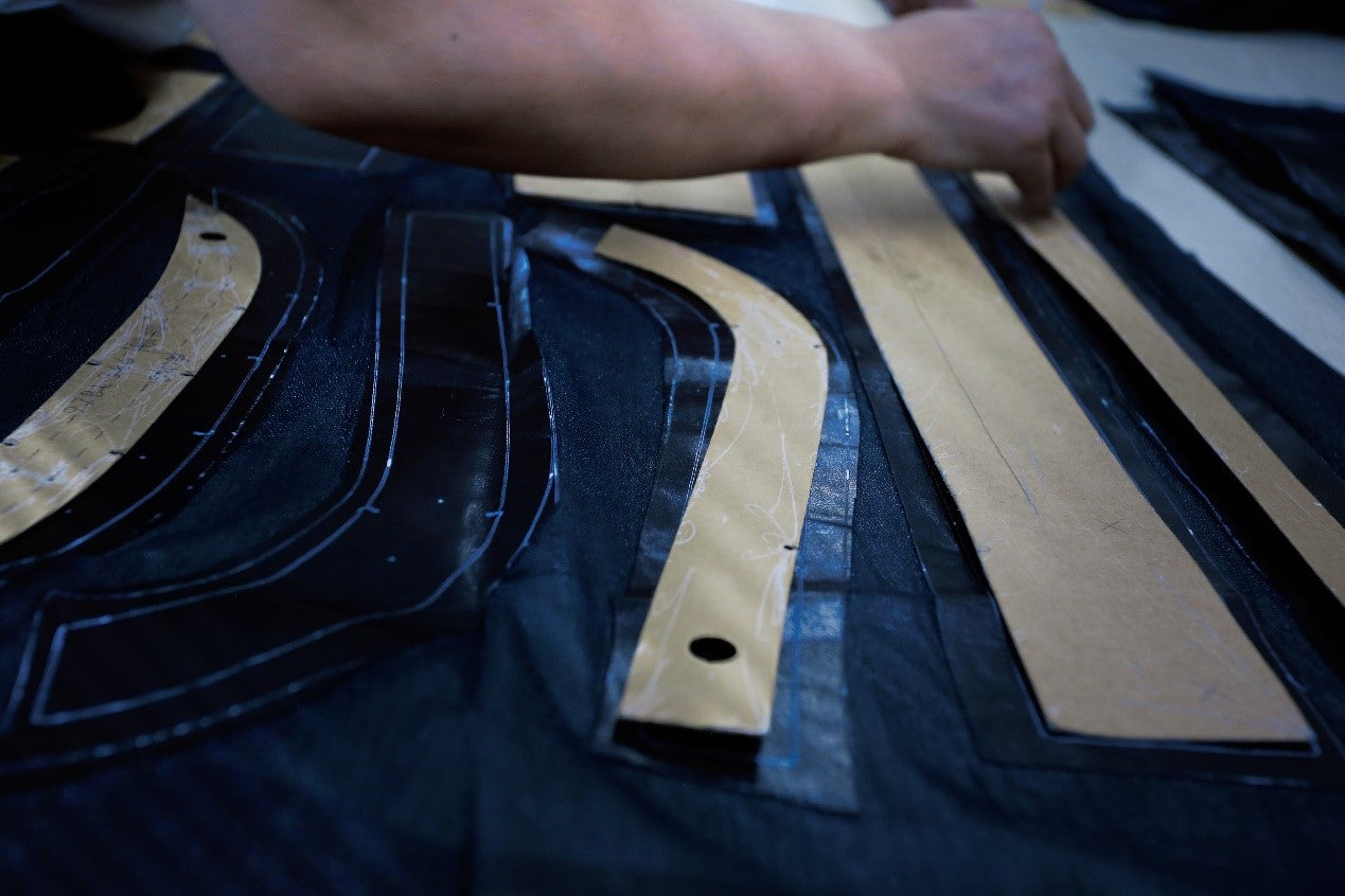 lineation of making a leather jacket