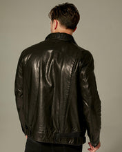 Load image into Gallery viewer, Embroidered Belted Vegetable Tanned Goatskin Jacket
