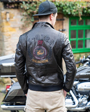 Load image into Gallery viewer, Fashionable Embroidery Goatskin Casual Moto Jacket