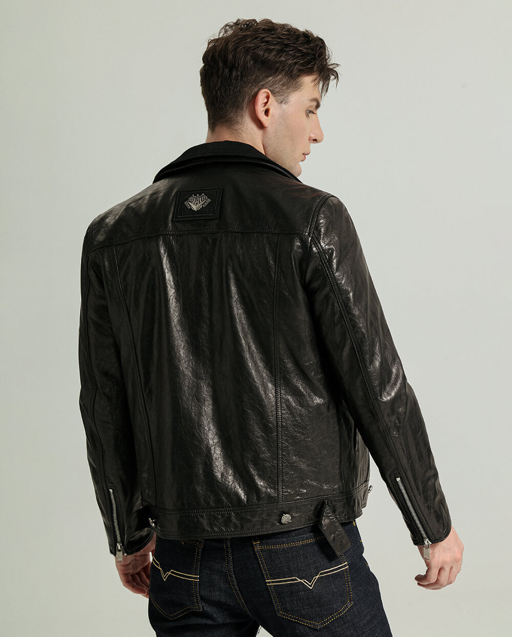 Vegetable Tanned Goatskin Cowboy Jacket