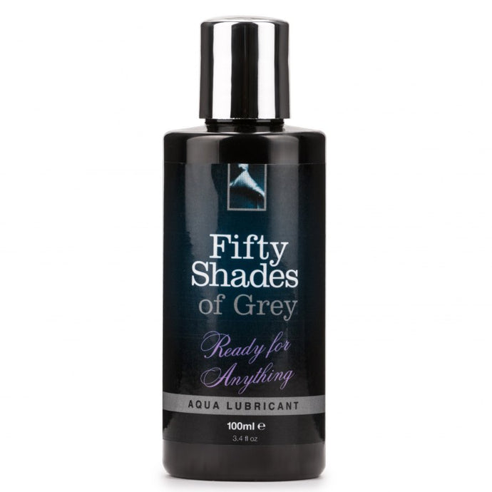 Fifty Shades of Grey Ready for Anything Aqua Lubricant