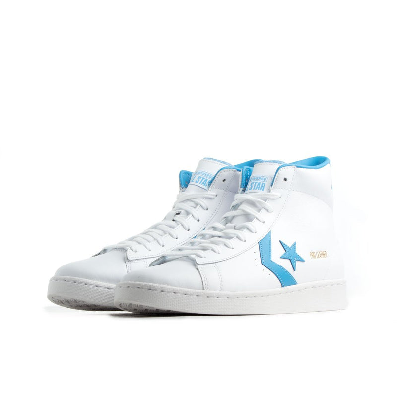 CONVERSE PRO LEATHER MID BLANC/BLEU
