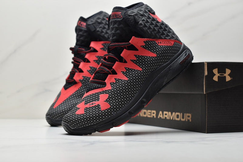 Under Armour Hommes Project Rock Delta ROUGE