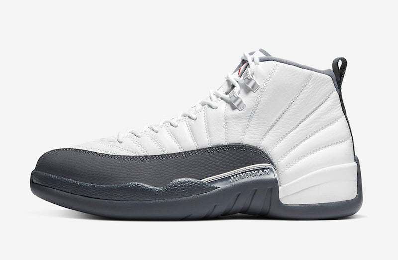 Jordan 12 Retro White Dark Grey