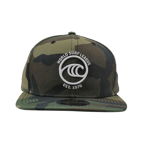 WSL New Era Icon Organic Snapback Hat (Camo)