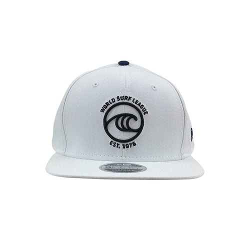 WSL New Era Icon Organic Snapback Hat (White)