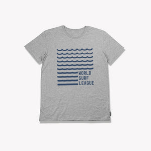 Wave Youth Tee (Heather Gray)
