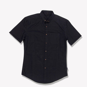 Men's Solid Shirt (Black)