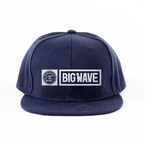 Big Wave Tour Snapback Hat (Navy)