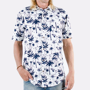 Men's Pattern Shirt (Navy)