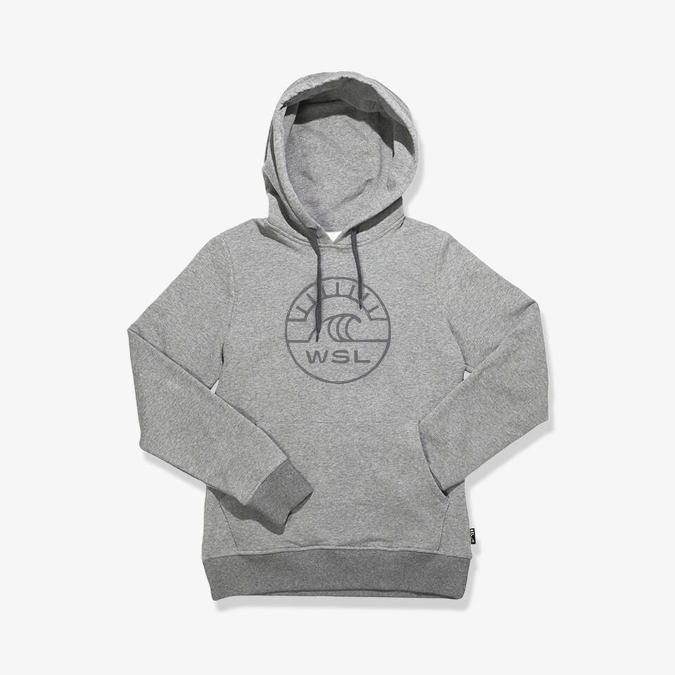 Groundswell Youth Hooded Fleece (Heather Gray)