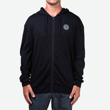 Load image into Gallery viewer, Merino Men's Hooded Fleece (Black)