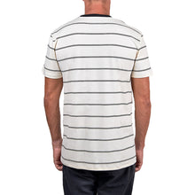 Load image into Gallery viewer, WSL Stripe Knit Men's Tee (White)