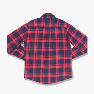 Men's Flannel Shirt (Red)