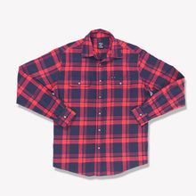 Load image into Gallery viewer, Men's Flannel Shirt (Red)