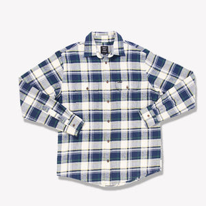 Men's Flannel Shirt (Blue)