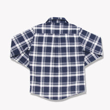 Load image into Gallery viewer, Men's Flannel Shirt (Navy)
