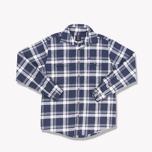 Men's Flannel Shirt (Navy)