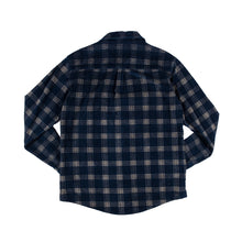 Load image into Gallery viewer, WSL Men's Flannel Shirt (Navy)