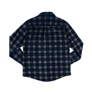 WSL Men's Flannel Shirt (Navy)