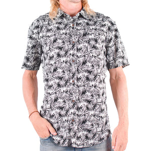 Men's Pattern Shirt (Black)