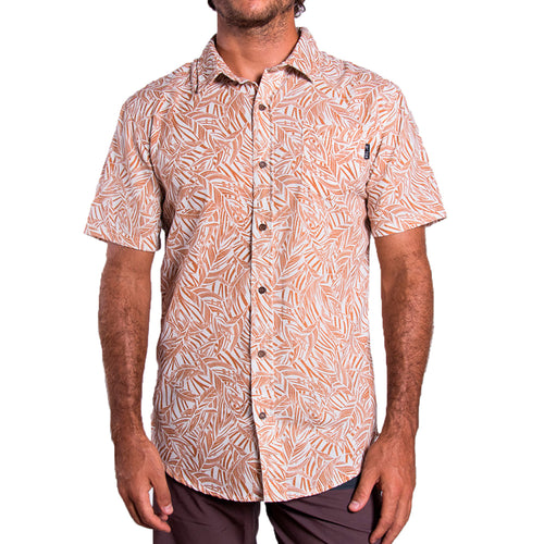 Men's Pattern Shirt (Rust)