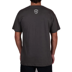 WSL Frontside Icon Organic Men's Tee (Charcoal)