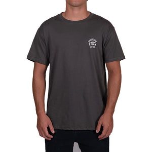 WSL Backside Icon Organic Men's Tee (Charcoal)