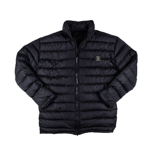 WSL Men's Puffer Travel Jacket (Black)