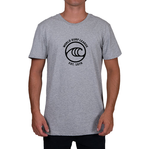 WSL Frontside Icon Men's Tee (Heather Gray)