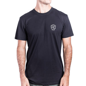 WSL Backside Icon Organic Men's Tee (Black)