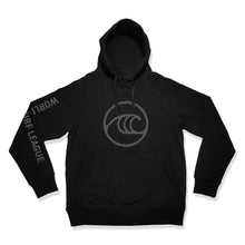 Load image into Gallery viewer, WSL Seal Youth Hooded Fleece (Black)