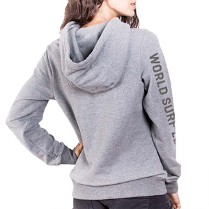 WSL Seal Women's Hooded Fleece (Heather Gray)