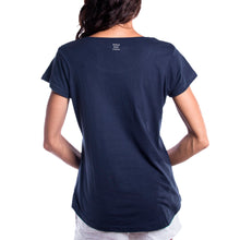 Load image into Gallery viewer, Groundswell Women's Tee (Navy)