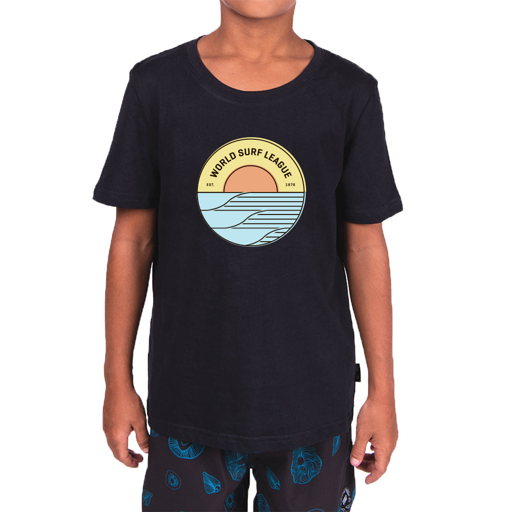 WSL Sunrise Youth Tee (Black)
