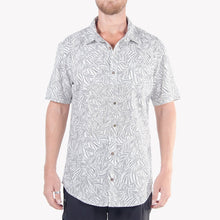 Load image into Gallery viewer, Men's Pattern Shirt (Gray)