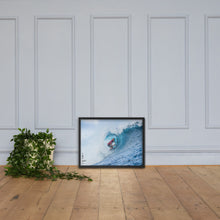 Load image into Gallery viewer, Owen Wright Poster (Framed): Tahiti, 2018