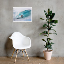 Load image into Gallery viewer, Kelly Slater Poster (Framed): Pipeline, 2020