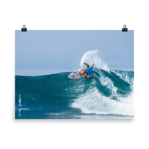 Lakey Peterson Poster (Unframed): Bali, 2018