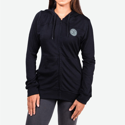 Woolmark Women's Hooded Fleece