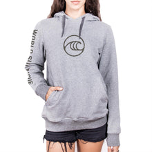 Load image into Gallery viewer, WSL Seal Women's Hooded Fleece (Heather Gray)