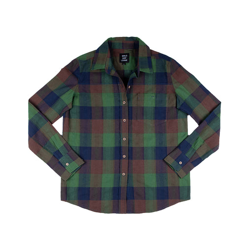 WSL Women's Flannel Shirt (Green)