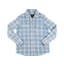 Load image into Gallery viewer, WSL Women's Flannel Shirt (Blue)