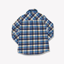 Load image into Gallery viewer, Women's Flannel Shirt (Blue)