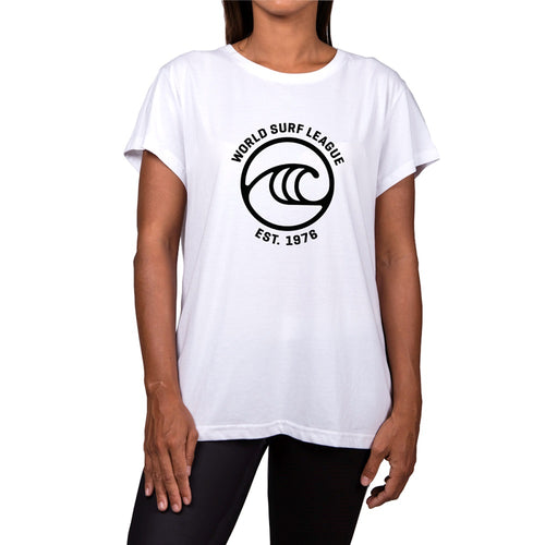 WSL Frontside Icon Organic Women's Tee (White)
