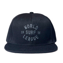 Load image into Gallery viewer, World Surf League (WSL) Archie Snap Back Flat Hat